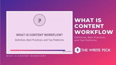 What is Content Workflow